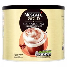 Catering Size Nescafe Gold Cappuccino Unsweetened 1kg tin
