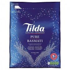 Catering Size Tilda Pure Basmati Rice 5kg sack