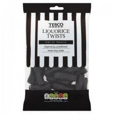 Tesco Liquorice Twists 250g
