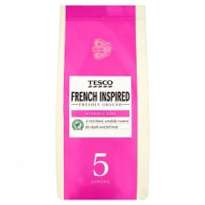 Tesco French Roast and Ground Coffee 227g