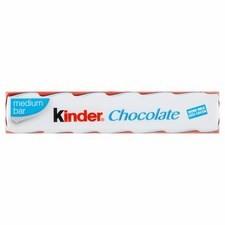 Retail Pack Kinder Chocolate Snack Bar 21g x 36