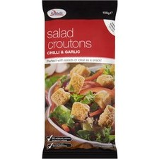 Rochelle Chilli and Garlic Salad Croutons 150g