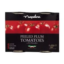 Napolina Plum Tomatoes 4 X 400g