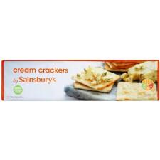 Sainsburys Cream Crackers 300g
